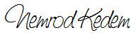 Signed, Nemrod Kedem